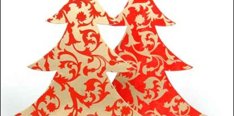 Noël en rouge et or