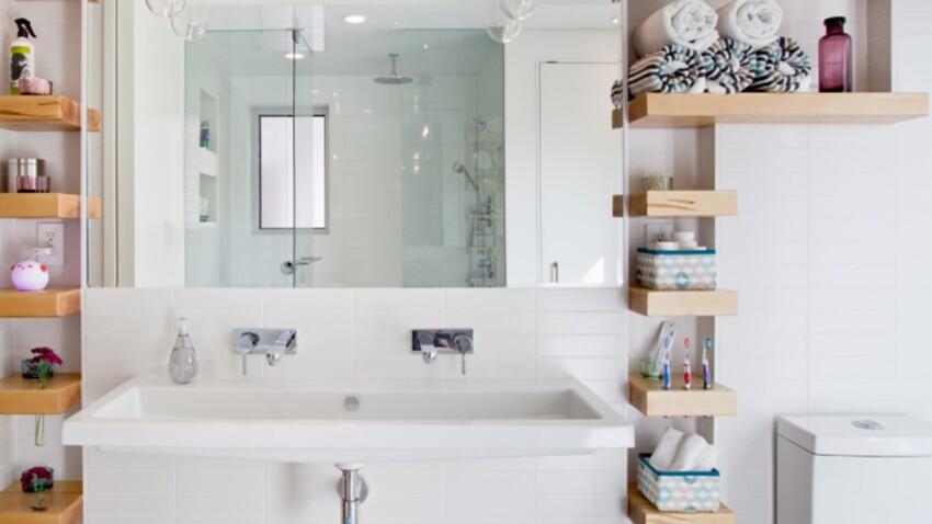 Petite salle de bain : 20 astuces gains de place pour tout ranger