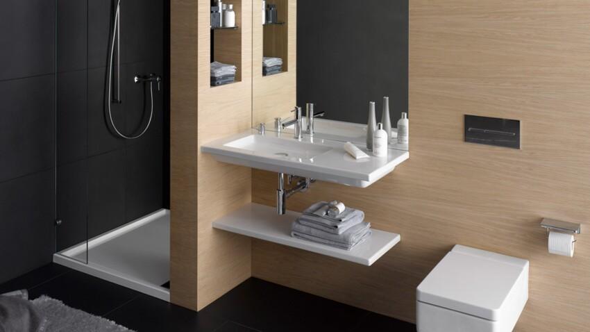 Petites salles de bains : nos idées déco