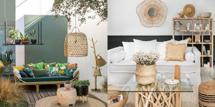 Rotin, raphia, bambou... Le retour des fibres naturelles