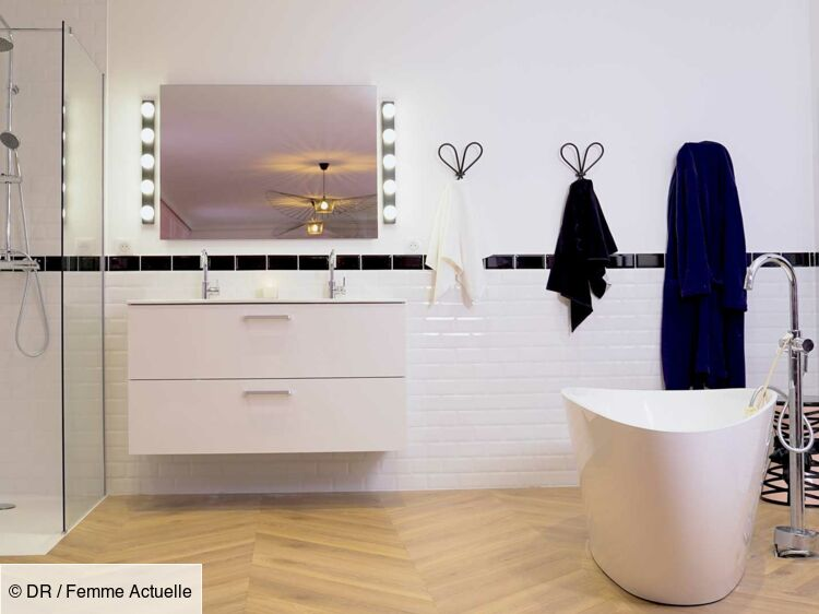 Une salle de bain moderne : Femme Actuelle Le MAG