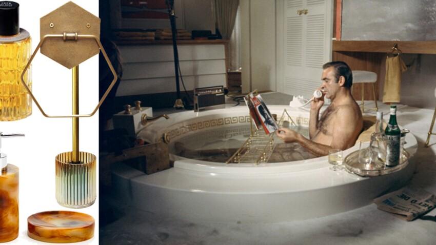 Salle de bains : des accessoires comme au cinéma