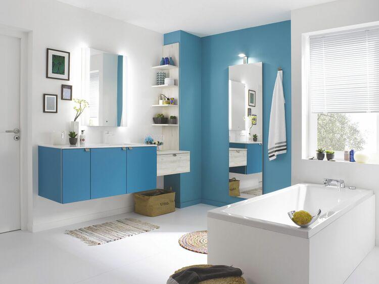 Salle de bains : les couleurs tendance : Femme Actuelle Le MAG