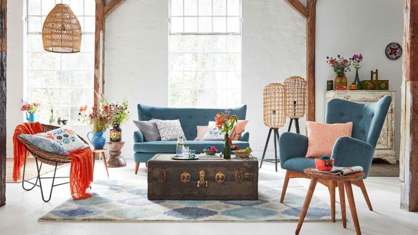 Salon cosy : nos conseils pour créer une ambiance bohème