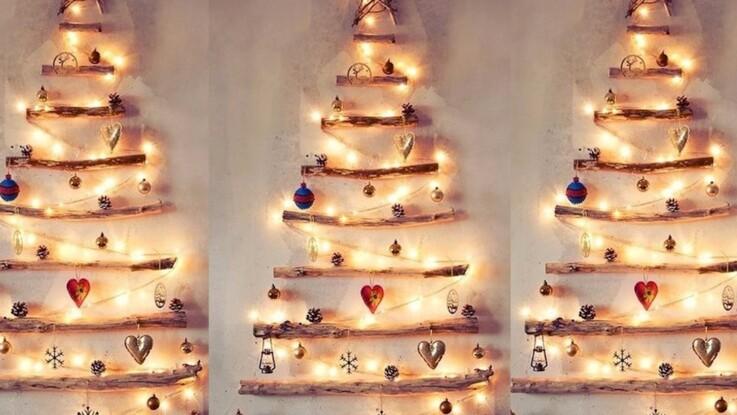 VIDÉO - 10 idées de sapins de Noël originaux repérées sur Pinterest