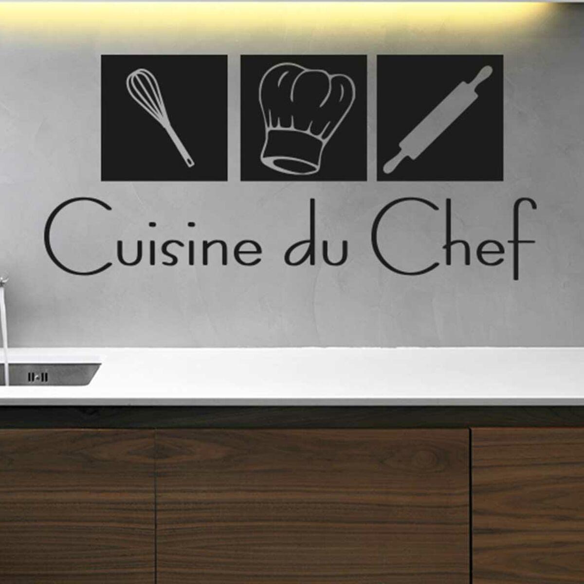 Stickers de cuisine : la solution relooking, express et pas cher