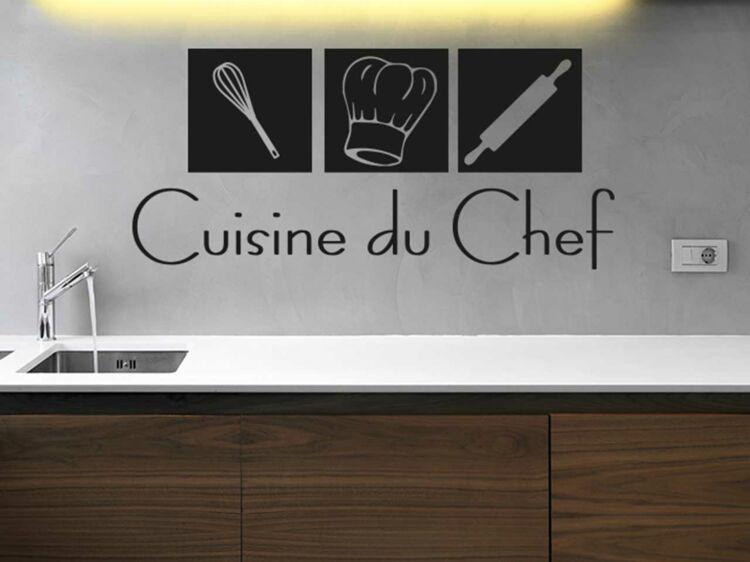Stickers De Cuisine : La Solution Relooking, Express Et Pas Cher : Femme  Actuelle Le MAG