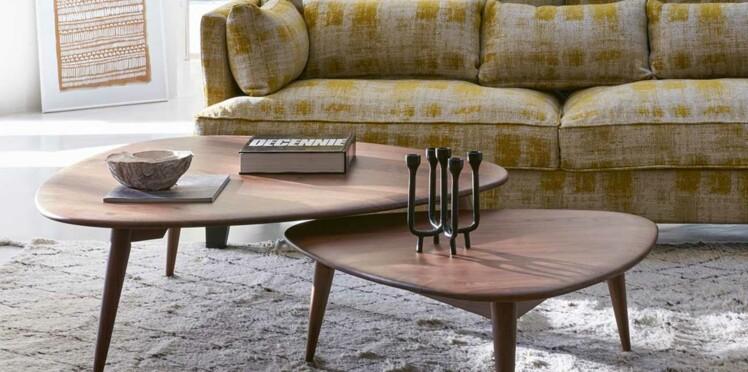 Table basse design classique ou vintage trouvez le bon mod le femme actuelle le mag - Modele table basse ...