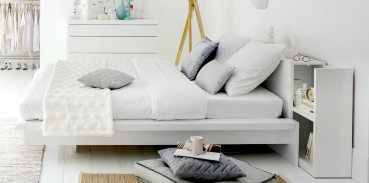 t te de lit quel mod le choisir femme actuelle le mag. Black Bedroom Furniture Sets. Home Design Ideas