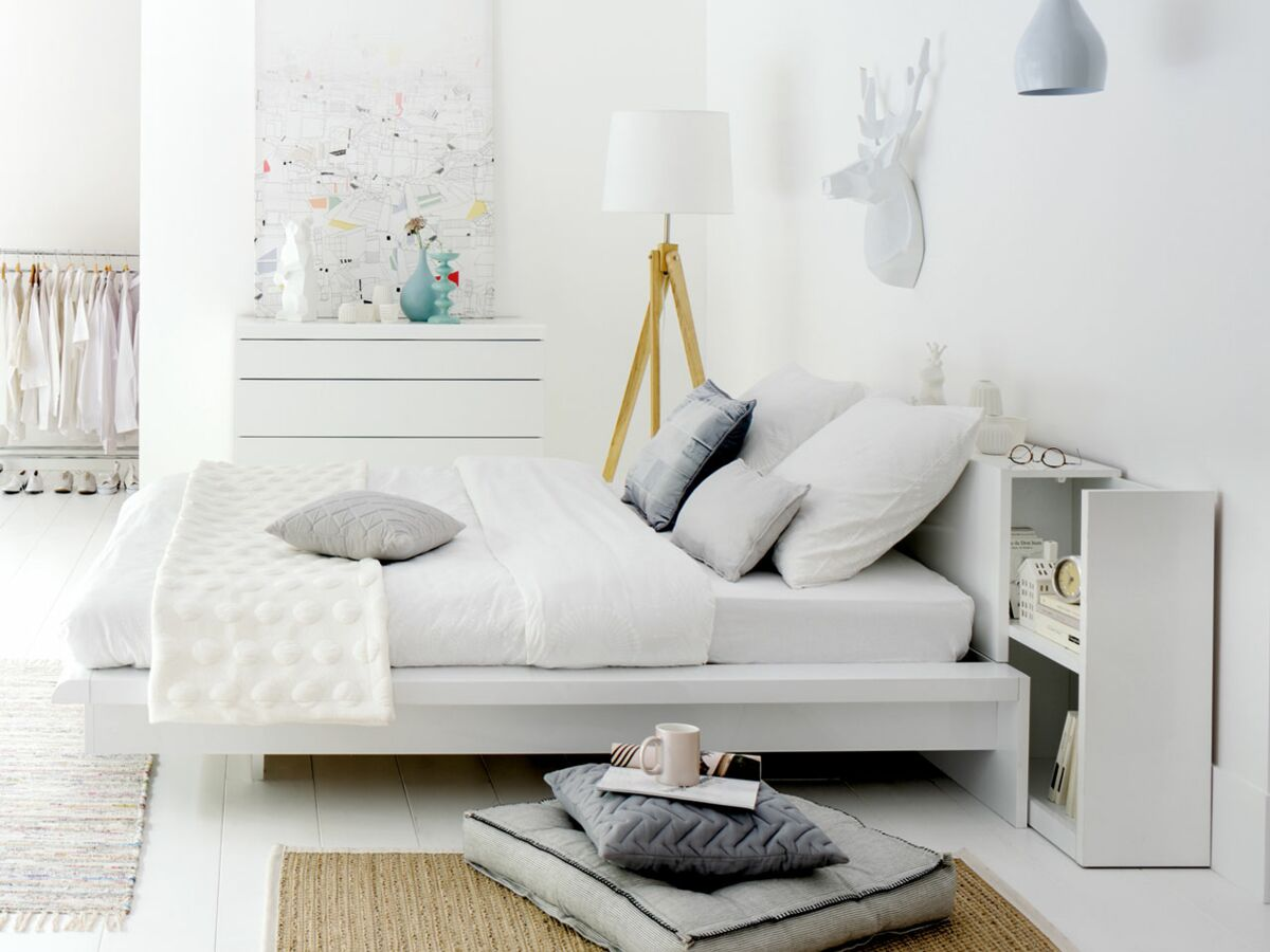 Modele De Lit En Palette tête de lit : quel modèle choisir ? : femme actuelle le mag