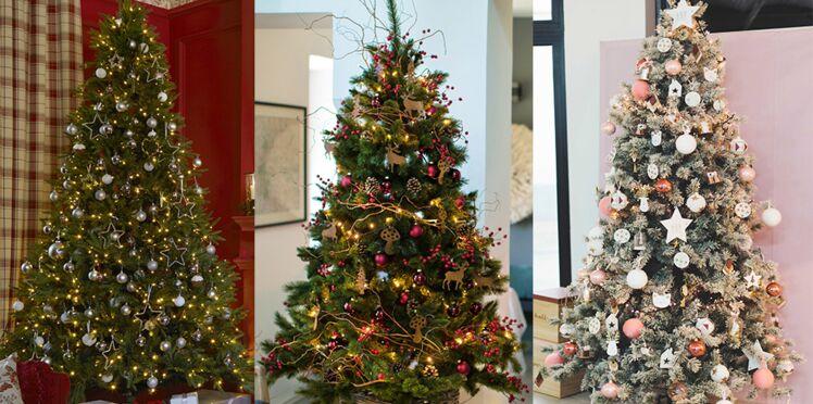 Tradi, nature, chic... 3 décos de sapin tendance pour Noël 2017