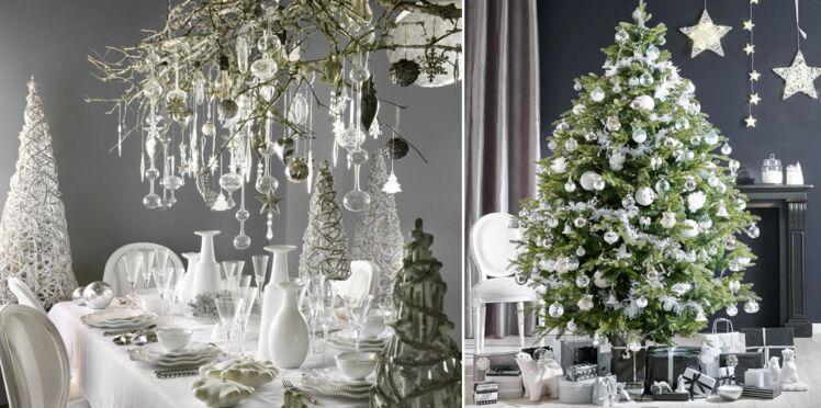 Un Noël féerique tout en blanc