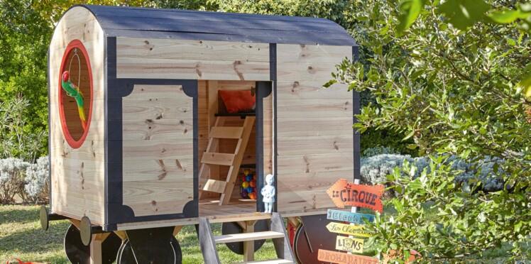 0a0276e3fb06b Une cabane de jardin pour les enfants   Femme Actuelle Le MAG