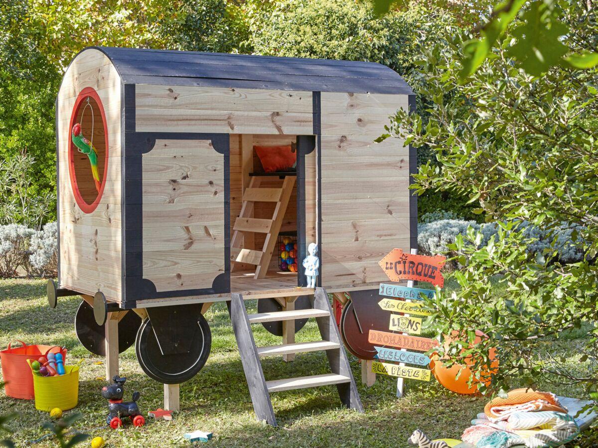 Maison Pour Enfant Exterieur une cabane de jardin pour les enfants : femme actuelle le mag