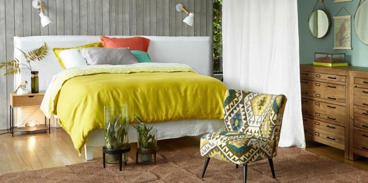 Une déco de chambre cosy pour l'été