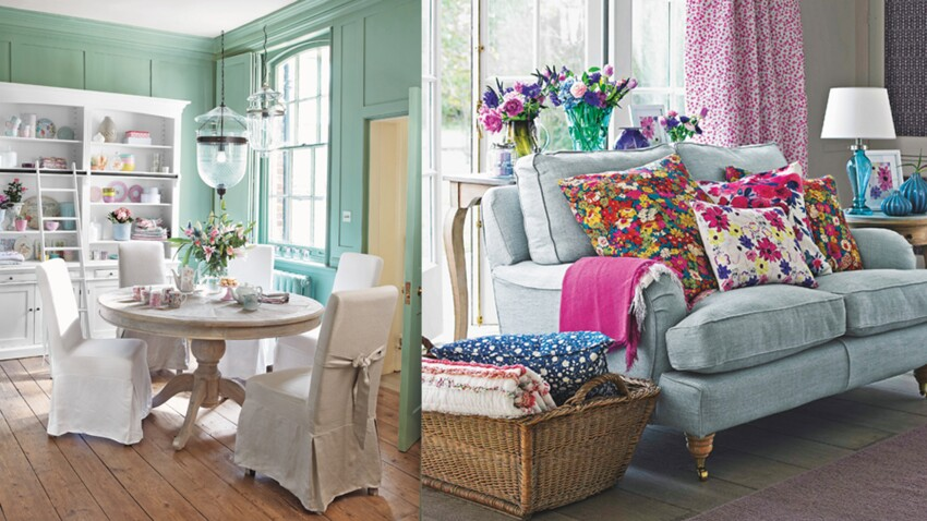 Une Maison De Charme Style Cottage Anglais Femme Actuelle Le Mag