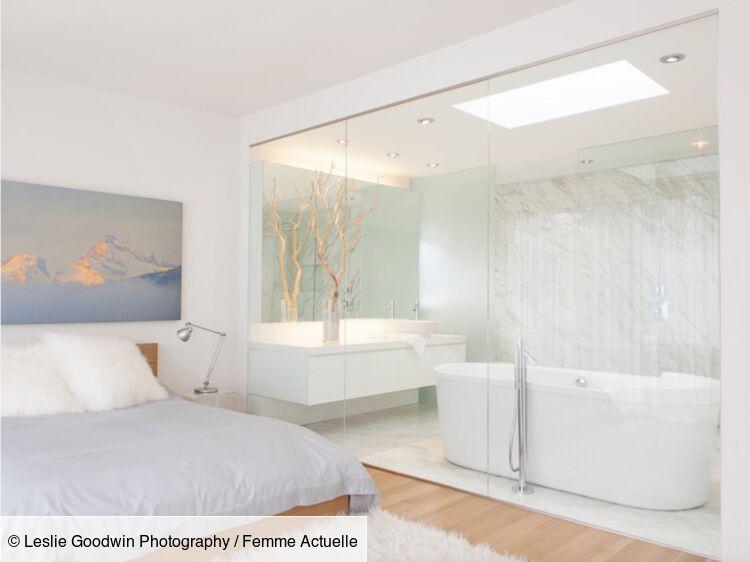 Une salle de bains dans la chambre : 13 idées originales ...