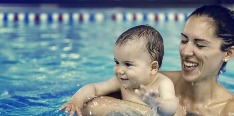 Bien gérer la sortie piscine avec bébé