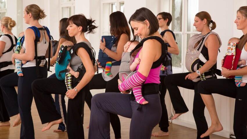 Kangatraining : faire du sport, après l'accouchement, avec son bébé !