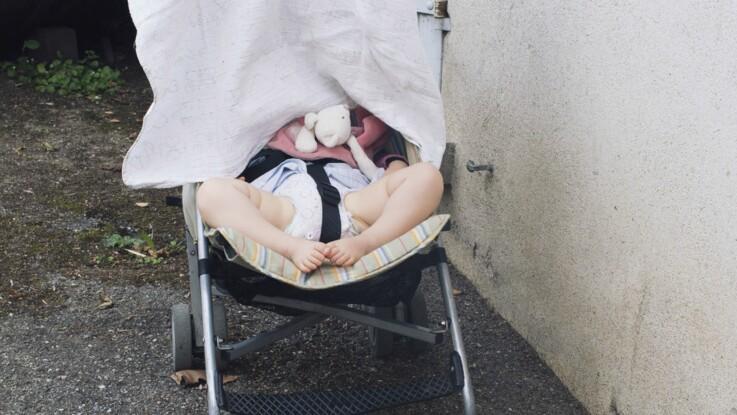 """""""Effet fournaise"""" : pourquoi il ne faut surtout pas couvrir la poussette de bébé"""
