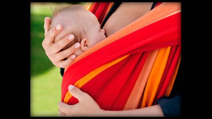 Le portage en écharpe : le berceau