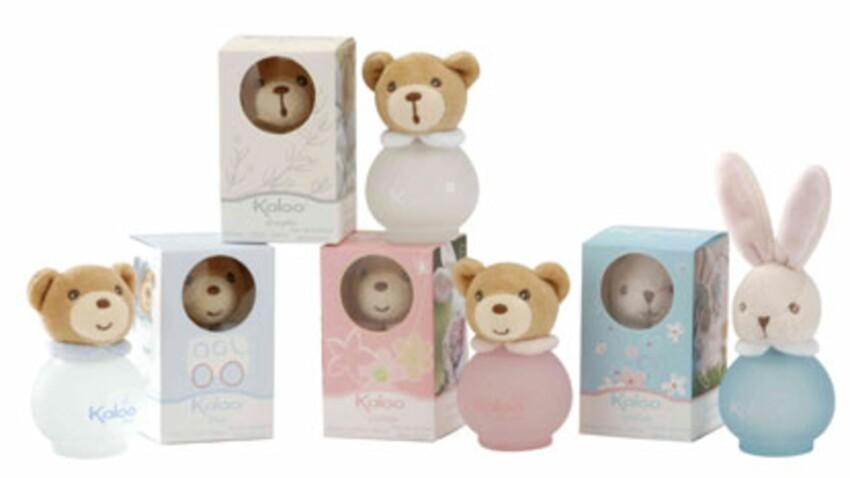 Des parfums tout doux pour bébé