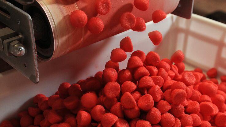 Les secrets de fabrication de la fraise Tagada