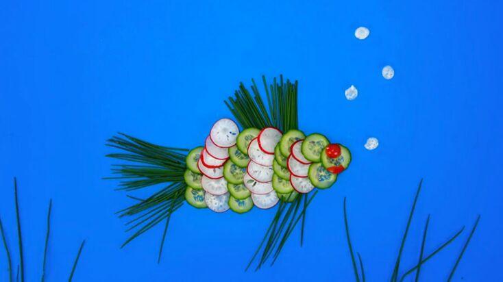 La recette du poisson en radis et concombre en vidéo
