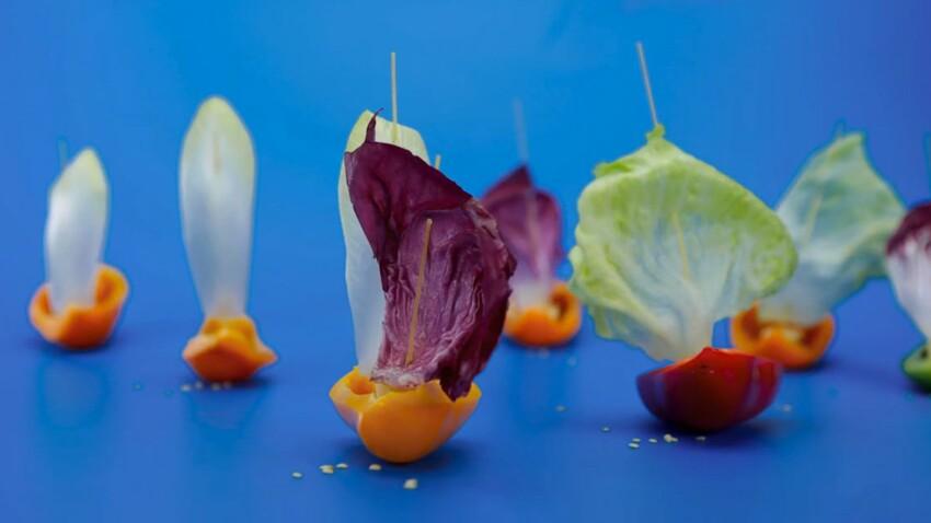 La recette des poivrons bateaux (vidéo)