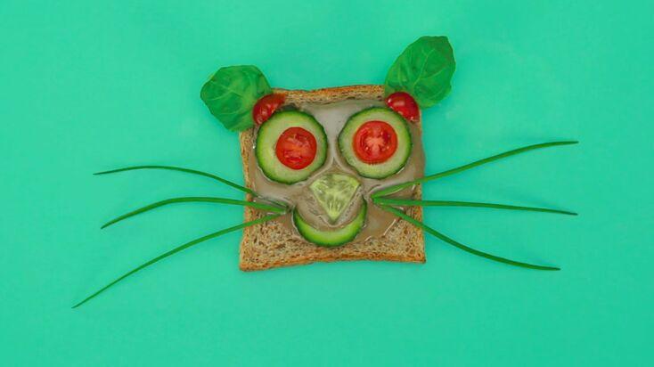 La recette du toast en forme de chat (vidéo)
