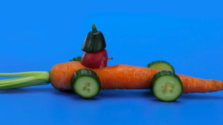 La recette de la voiture de course à la carotte en vidéo