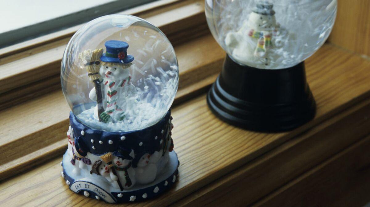 Comment Faire Des Boule A Neige bricolage pour les enfants : je fabrique une boule à neige