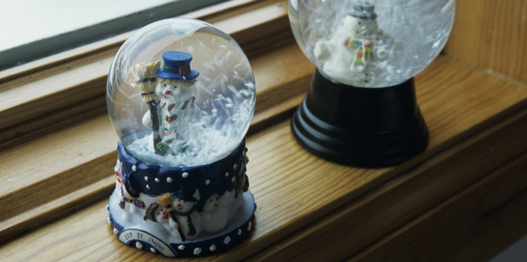 Bricolage pour les enfants: je fabrique une boule à neige