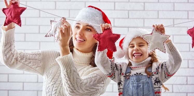 Bricolages de Noël : des idées déco à faire avec des enfants