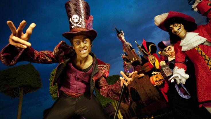 Les méchants de Disney fêtent Halloween