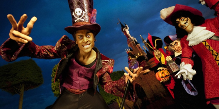 Les méchants de Disney fêtent Halloween