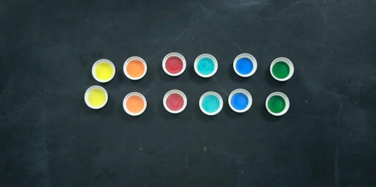 Un mémory des couleurs à faire soi-même (vidéo)
