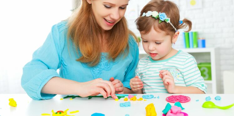Bricolage pour les enfants: 3 idées qui changent de la pâte à sel