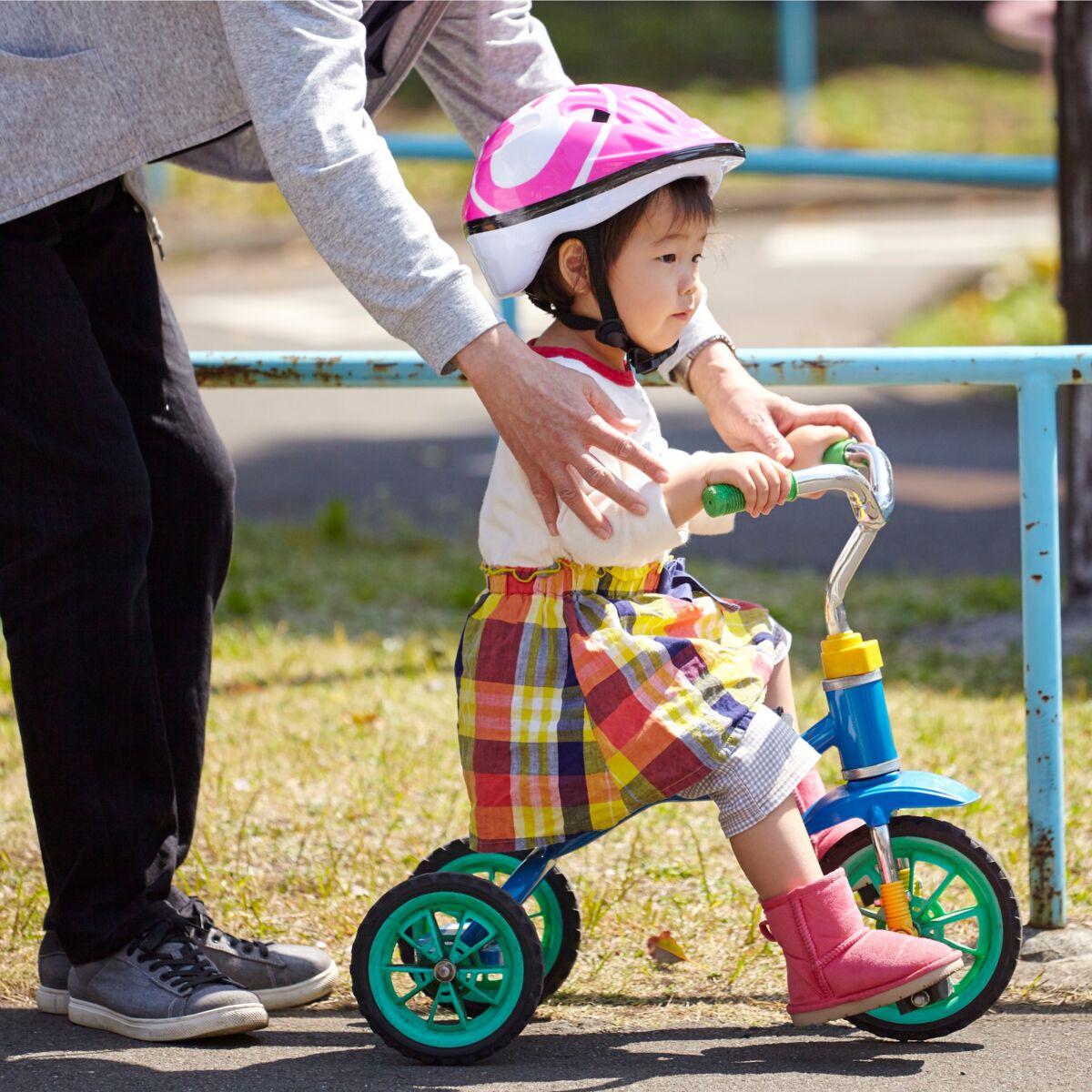 Tricycle jusqu à quel age