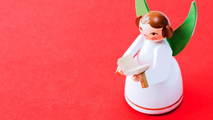 Fabriquez un ange pour décorer le sapin