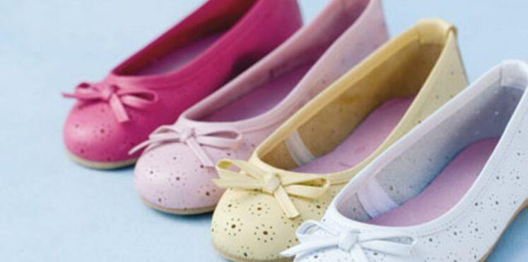 Des chaussures pour enfant pour l'été