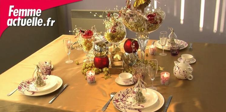 Une table de Noël féérique