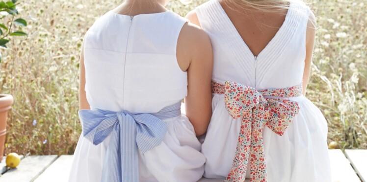 9b5ea12aa716c Mariage 2015   nos idées de tenues de cérémonie pour enfants   Femme ...