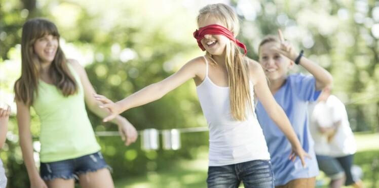 Exercice de concentration pour enfant : la promenade de l'aveugle