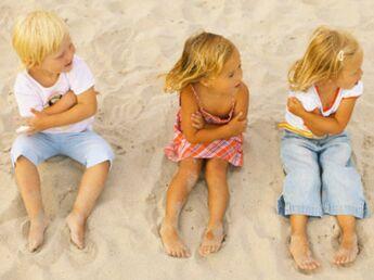 Sans stress à la plage avec les enfants
