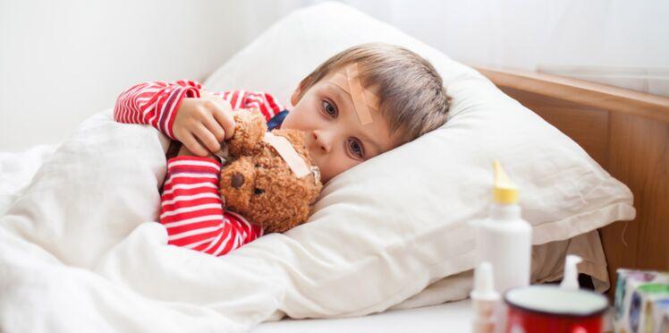 Soigner la grippe chez un enfant