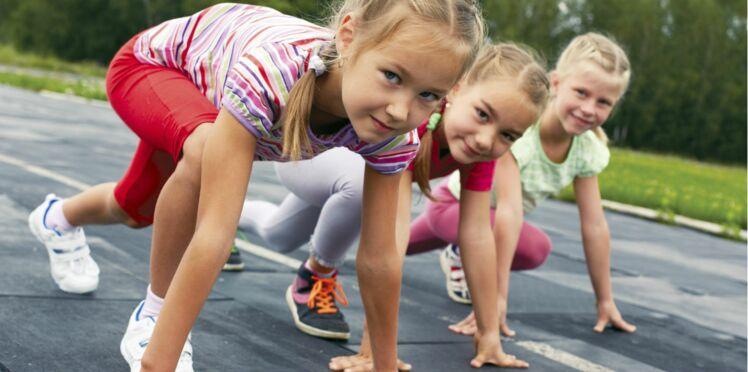 Le sport, c'est aussi pour les petites filles !