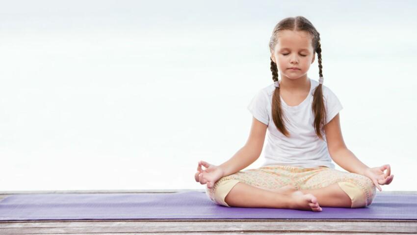 Yoga : 10 postures à faire avec son enfant