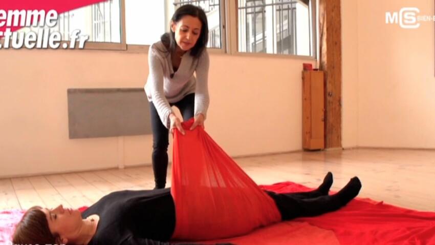 Grossesse : le Flying Massage pour détendre la future maman