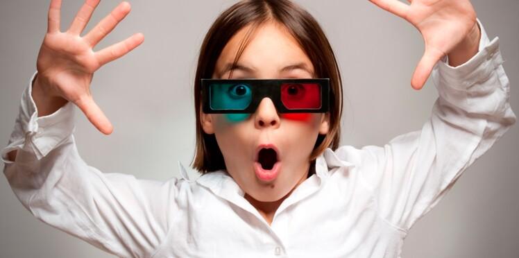 Films et jeux en 3D : pas avant 6 ans